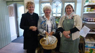 High Sheriff of Warwickshire visits our shop